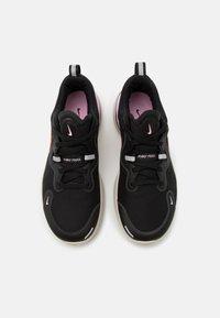 Nike Performance - REACT MILER - Zapatillas de running neutras - black/metallic copper/light arctic pink/light orewood brown - 3
