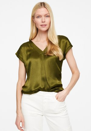 Blouse - deep green