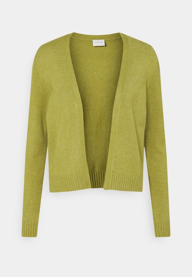 VIRIL - Cardigan - green olive melange