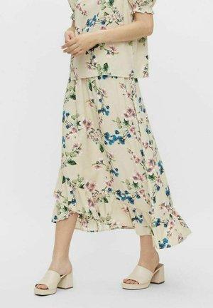Maxi skirt - sandshell