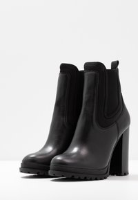 ALDO - ELRUDIEN - High heeled ankle boots - black - 4