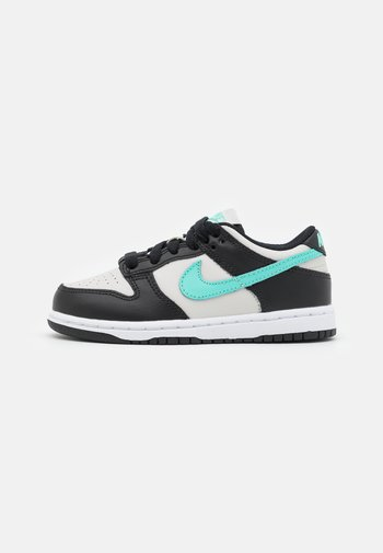DUNK UNISEX - Sneakers - light bone/tropical twist/black/white