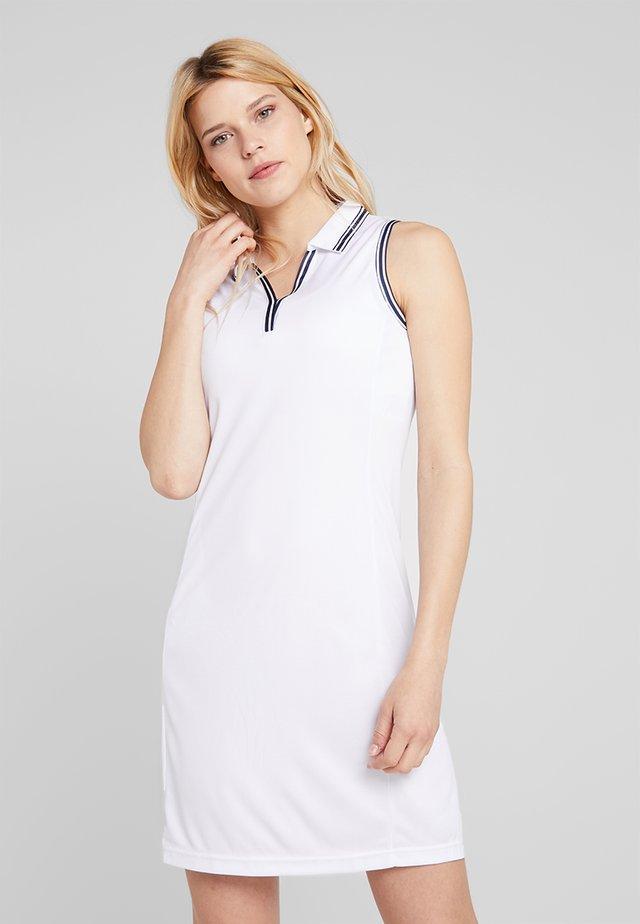 NOSTALGIA DRESS - Sukienka sportowa - white