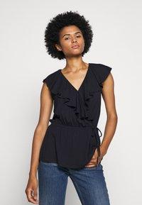 Lauren Ralph Lauren - T-shirts med print - navy - 0