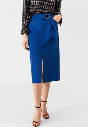 Pencil skirt - brilliant blue