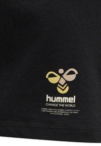 Hummel - SCARLET - Basic T-shirt - black - 4
