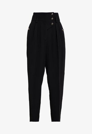 PUNCH - Trousers - black