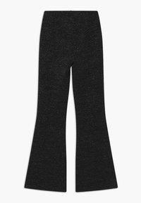Grunt - METTE GLITTER TRUMPET - Trousers - black - 1