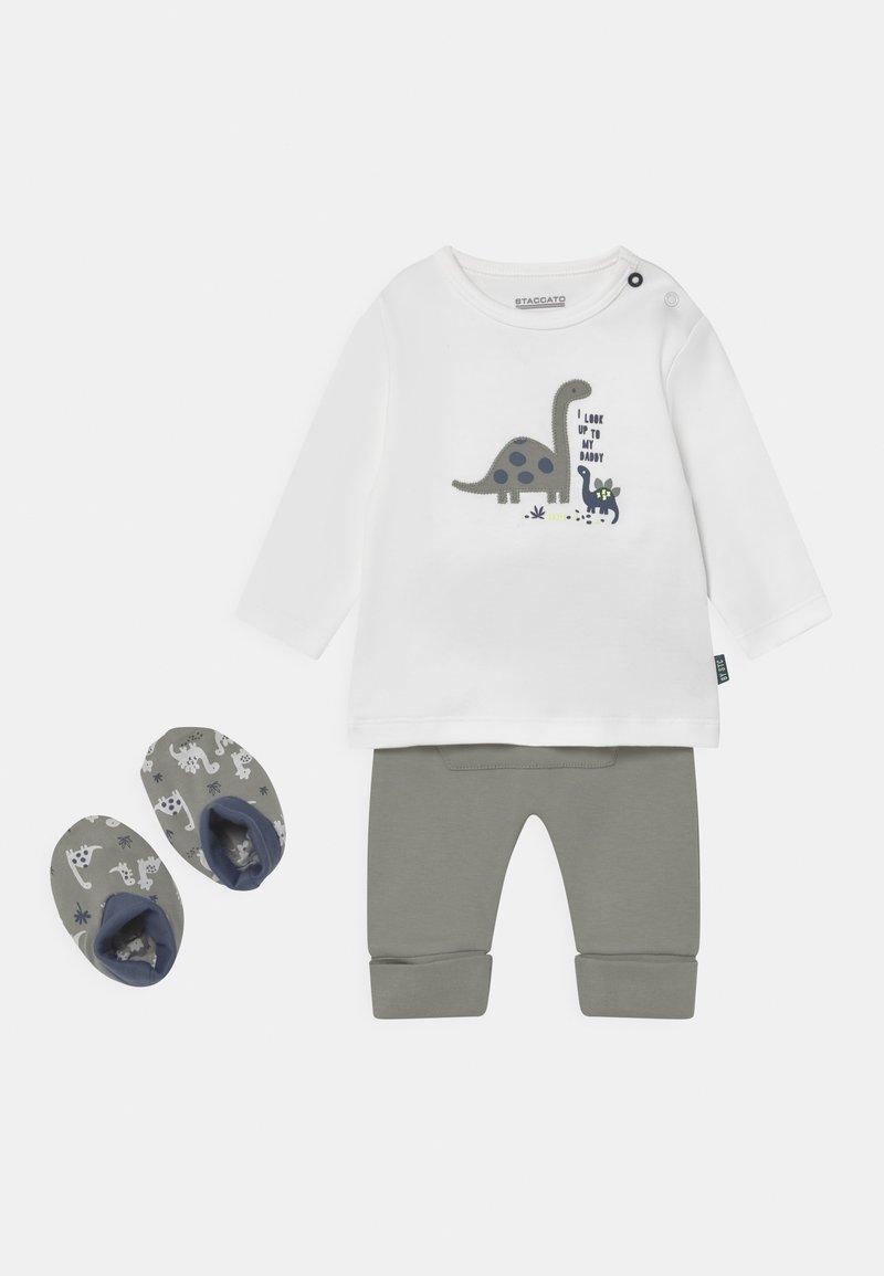 Staccato - SET  - Kalhoty - off-white/khaki