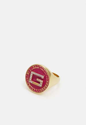 SOLITAIRE - Anello - ant yellow gold-coloured/pink