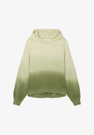 Hoodie - multi/green shades