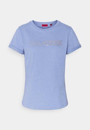 THE SLIM TEE - Print T-shirt - bright blue