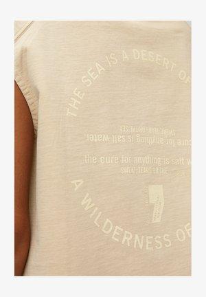 Print T-shirt - island beach