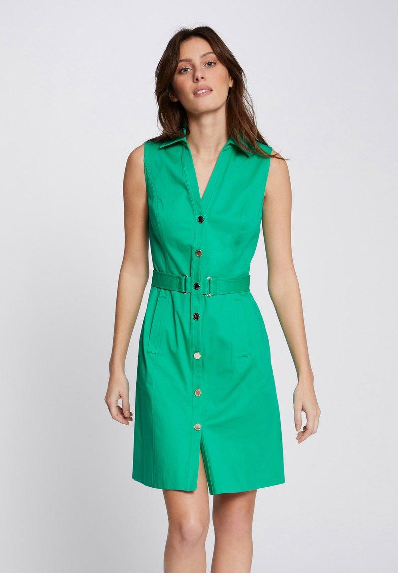 Morgan - Shirt dress - green