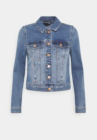 VMFAITH SLIM JACKET MIX - Denim jacket - medium blue denim