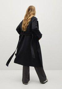 Mango - Klasický kabát - schwarz - 2