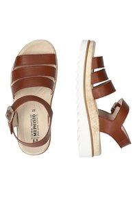 Mephisto - Wedge sandals - braun - 2