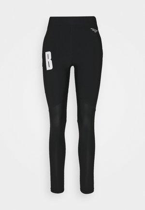 NIGHT  - Leggings - black beauty