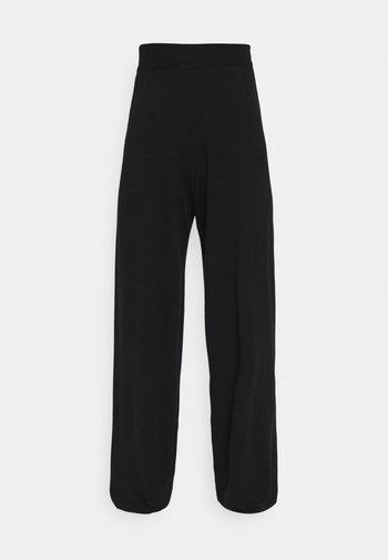ONLCOZY WIDE PANTS - Bukse - black
