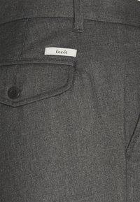 forét - POND SUIT PANTS - Trousers - stone - 3