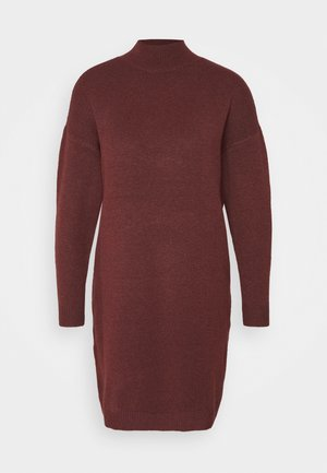 ONLPRIME DRESS - Robe pull - fired brick/elange