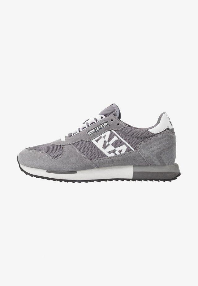 Sneaker low - dark grey solid
