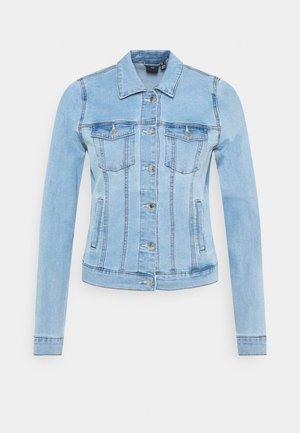 VMHOT SOYA JACKET - Jeansjakke - light blue denim
