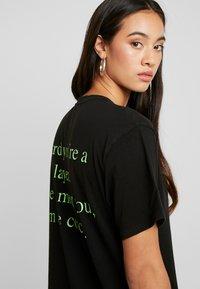 NGHTBRD - PLAYER TEE - T-shirt print - vintage black - 3