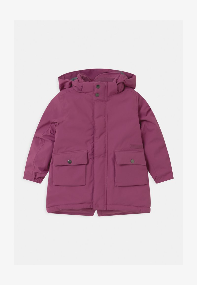 Didriksons - UTTERN KIDS UNISEX - Winter coat - lilac balloon