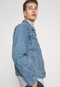 TOM TAILOR - Shirt - white/blue - 4