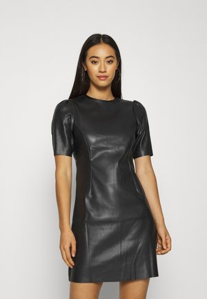 NMHILL SHORT DRESS - Denní šaty - black