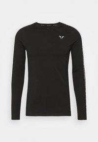 SQUATWOLF - LIMITLESS FULL SLEEVES TEE - Long sleeved top - black - 5