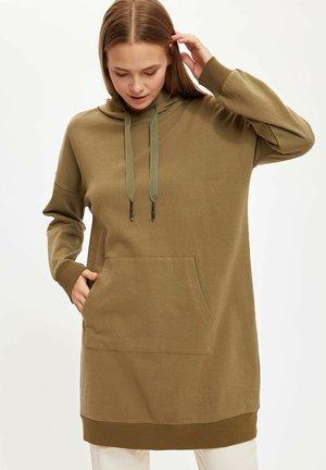 Jersey con capucha - green