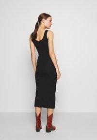 Modström - TULLA LONG - Jersey dress - black - 2