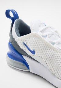 Nike Sportswear - AIR MAX 270 - Sneakers - white/hyper royal/pure platinum - 2