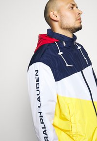 Polo Ralph Lauren Big & Tall - PACE FULLZIP - Lehká bunda - newport navy/yellow - 7