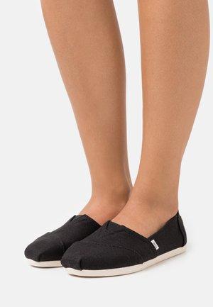 ALPARGATA - Scarpe senza lacci - black