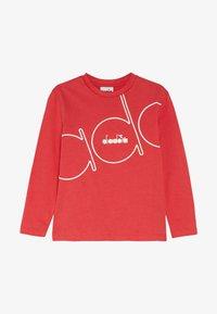 Diadora - PALLE - T-shirt à manches longues - dark red - 2