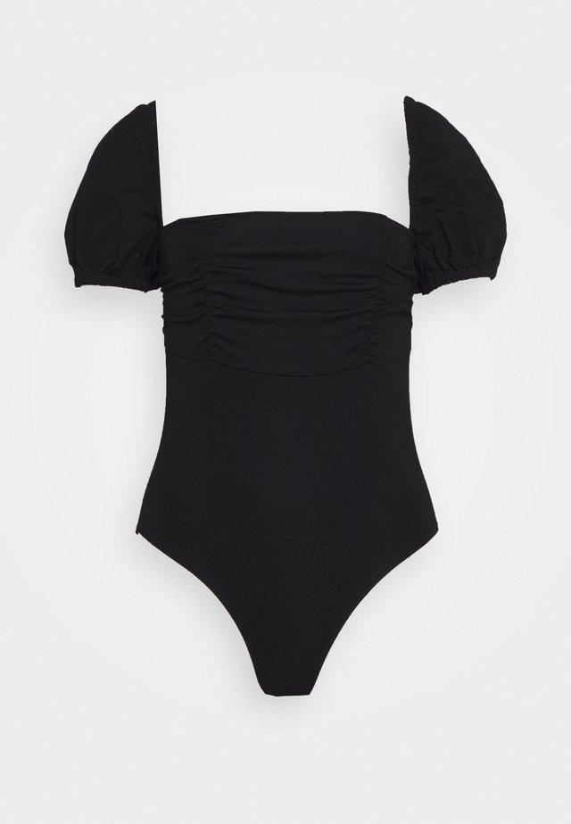 DEIDRE BODYSUIT - Printtipaita - black