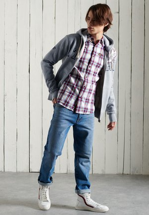 WORKWEAR LITE - Skjorta - winter blue check