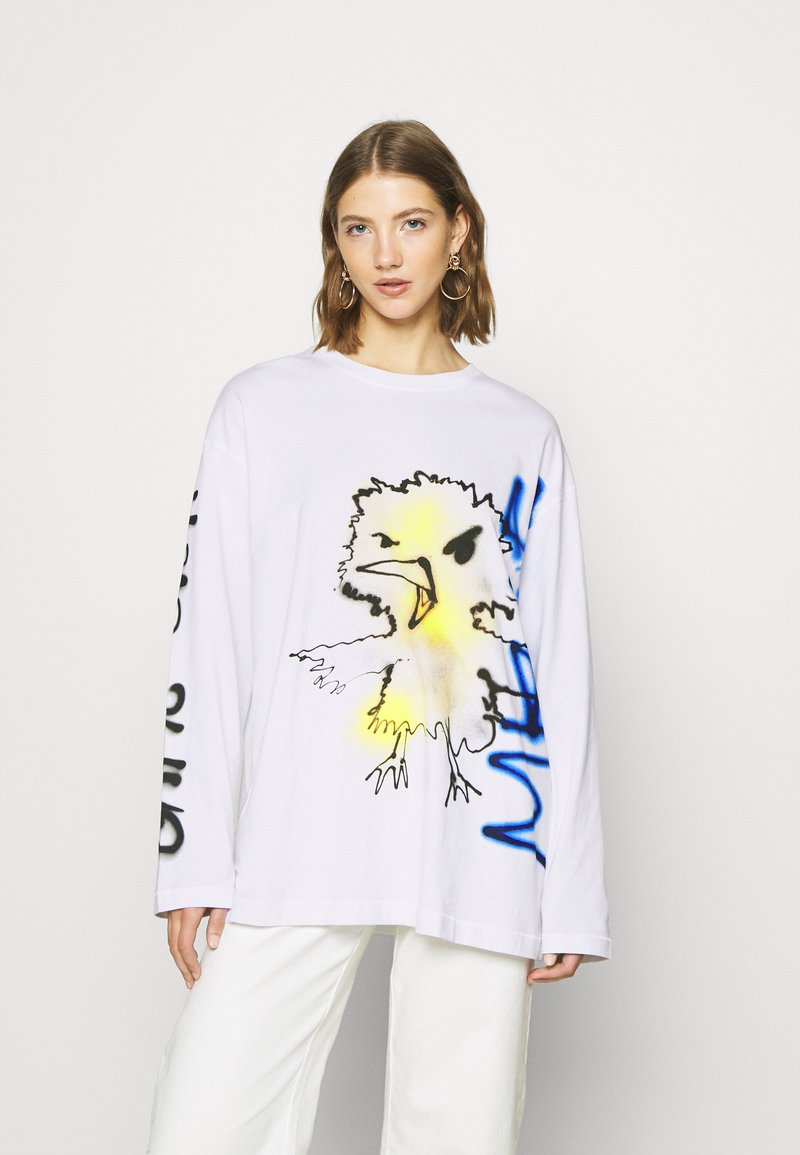 Weekday - CHEMI - Long sleeved top - white