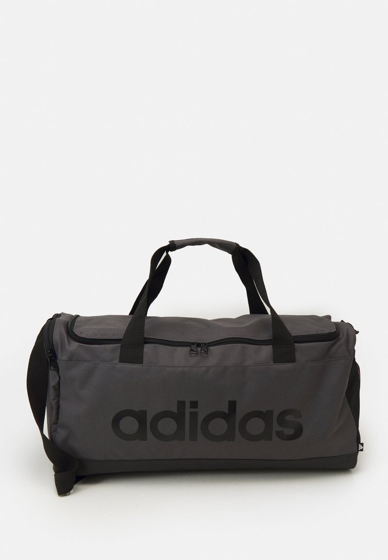 adidas Performance - LINEAR DUFFEL M UNISEX - Sportovní taška - grey/black