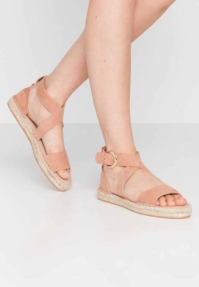 SAVANNAH - Loafers - nude
