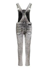 WE Fashion - Dungarees - grey - 1