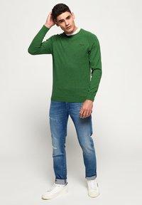 Superdry - ORANGE LABEL  - Pullover - green - 1