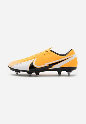 VAPOR 13 ACADEMY SG-PRO AC - Screw-in stud football boots - laser orange/black/white