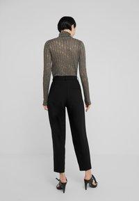 Bruuns Bazaar - CINDY DAGNY PANT - Trousers - black - 2