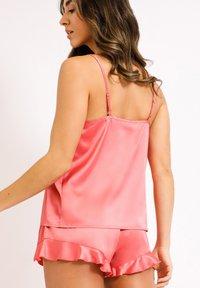 Chelsea Peers - NYC WELLNESS  - Pyjama set - pink - 1
