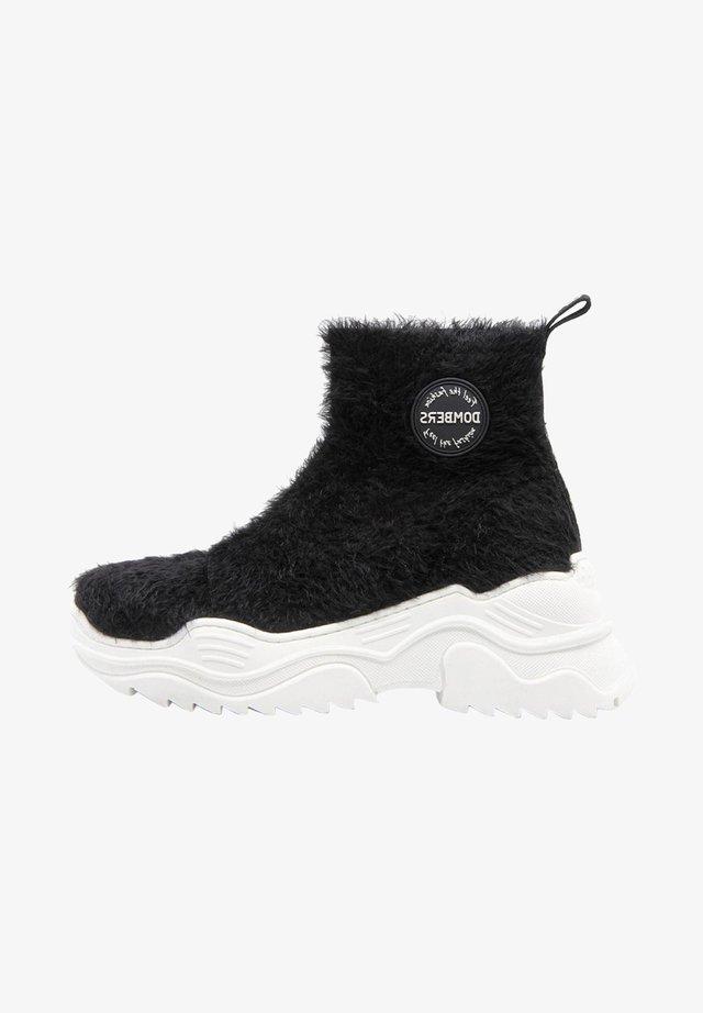 Bottes de neige - black/dark grey