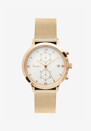 ADLER 42MM - Kronografklockor - rose gold-white